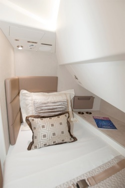 747BBJ Aeroloft sleeping area