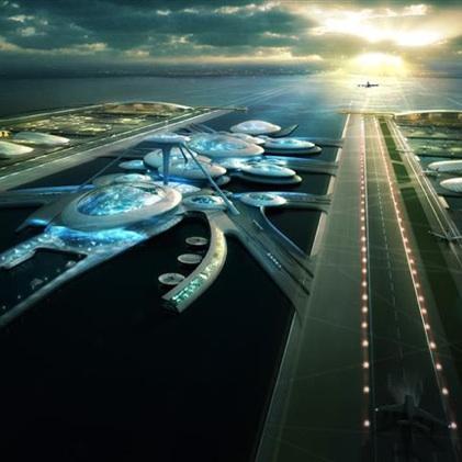 Dezeen London Britannia Airport by Gensler 2a